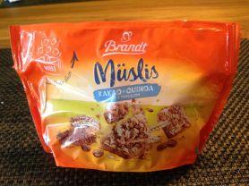 Müslis Kakao + Quinoa Minizwieback, Kakao und Quinoa | Hochgeladen von: jaysma