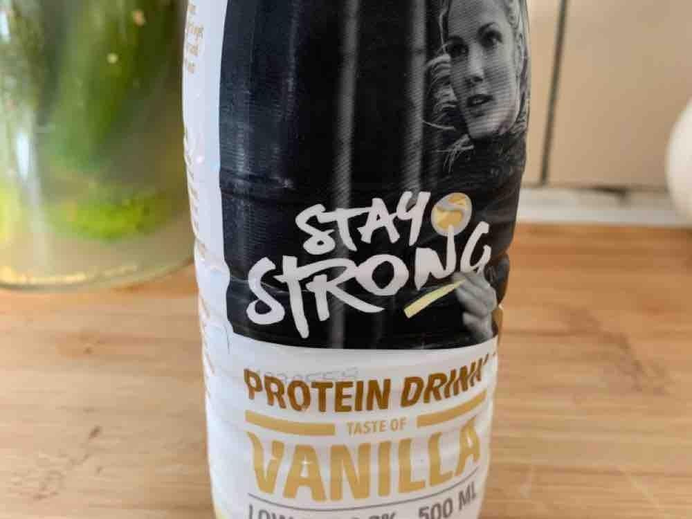 Stay Strong Protein Drink (Vanille) von theoderwolff   Hochgeladen von: theoderwolff