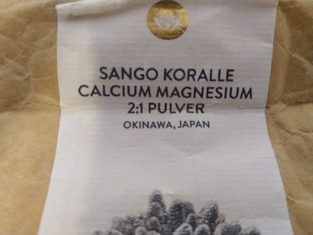 Sango Meereskoralle 2:1, Calcium, Magnesium von cslr794   Hochgeladen von: cslr794