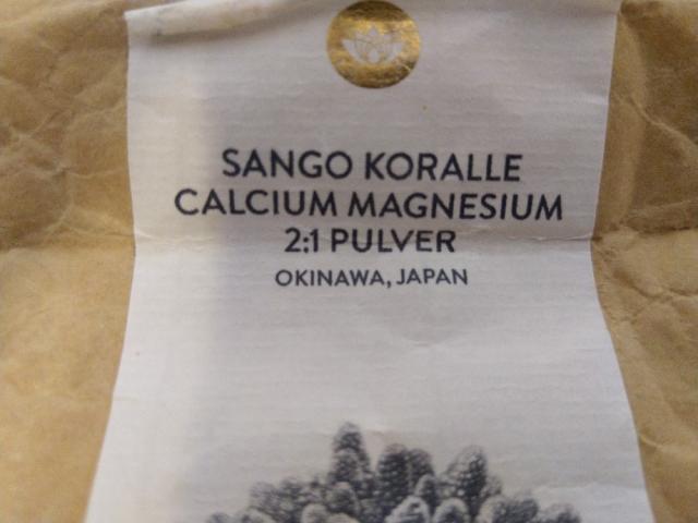 Sango Meereskoralle 2:1, Calcium, Magnesium von cslr794 | Hochgeladen von: cslr794