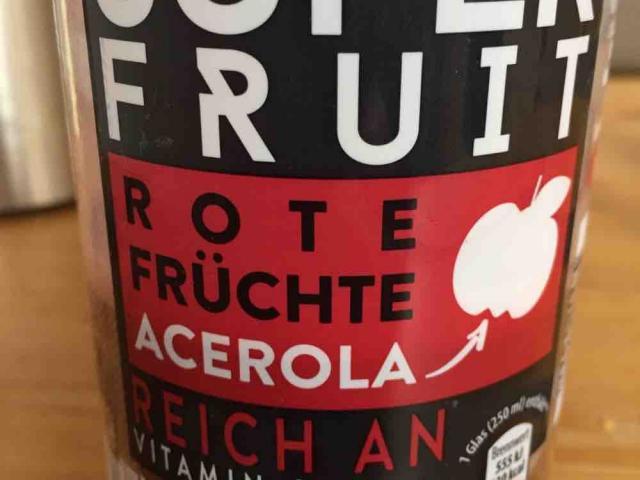 Super Fruit Rote Früchte, Mit Acerola von PaulHou   Hochgeladen von: PaulHou