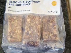 Almond & Coconut Bar (Multipack), Mandel, Kokosnuss   Hochgeladen von: suNN361