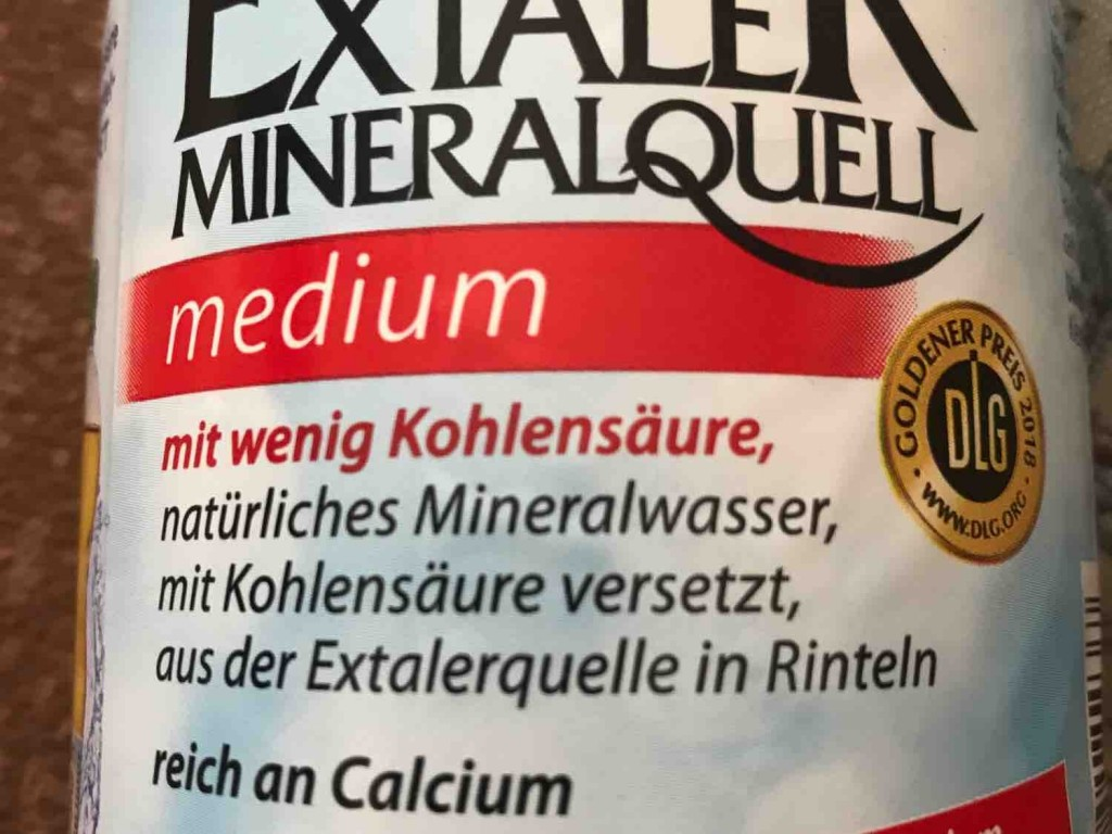 Extaler Mineralquell, wenig Kohlensäure von mcn4you | Hochgeladen von: mcn4you