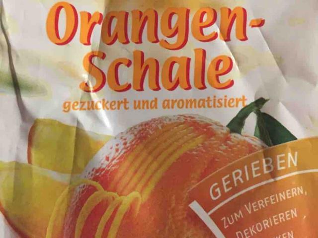 Orangenschale, gerieben, gezuckert, aromatisiert von MichiNoctua | Hochgeladen von: MichiNoctua