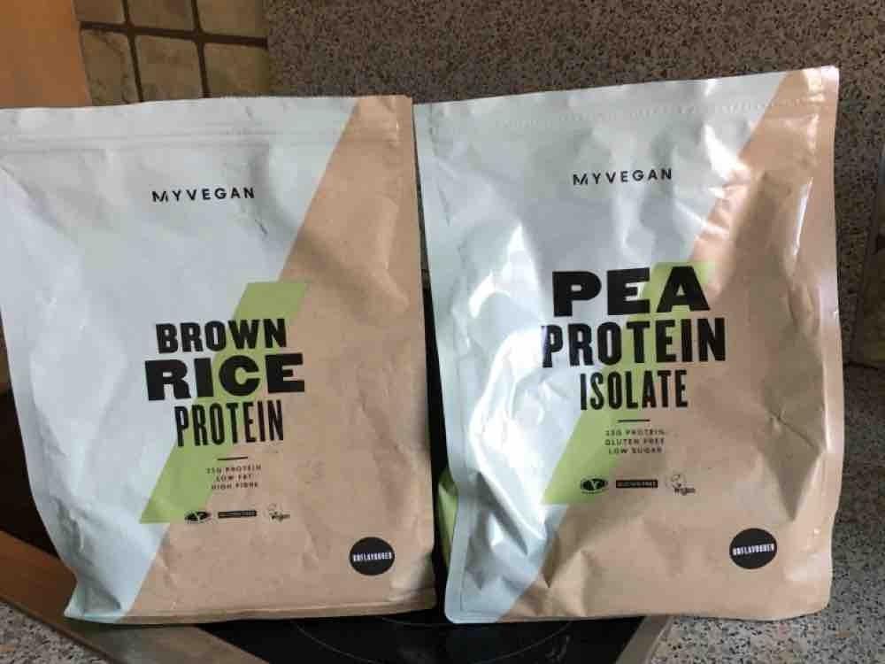 Protein-Mischung (Reis, Erbsen) von edwarddh | Hochgeladen von: edwarddh