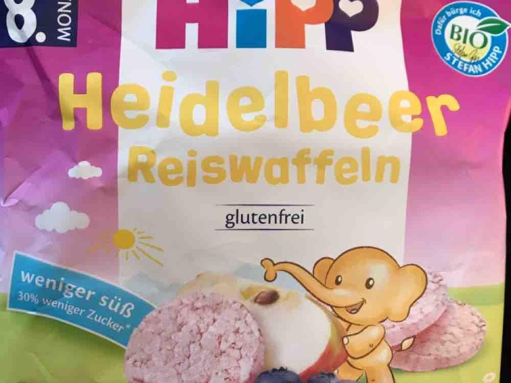 Heidelbeer Reiswaffeln von manuela141838 | Hochgeladen von: manuela141838