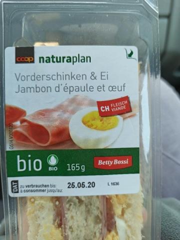 Sandwich, Vorderschinken-Ei von BettinaS   Hochgeladen von: BettinaS