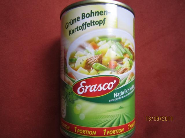 Grüne Bohnen-Kartoffeltopf, mit Rindfleisch   Hochgeladen von: Fritzmeister