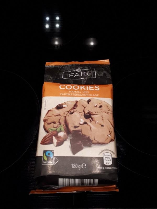 Cookies Mandel und Zartbitterschokolade , Fairtrade  von numrollen | Hochgeladen von: numrollen