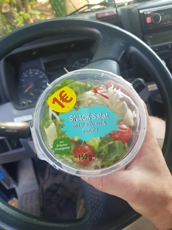 Snack Salat, Weißkraut Tomate von Dutsche   Hochgeladen von: Dutsche