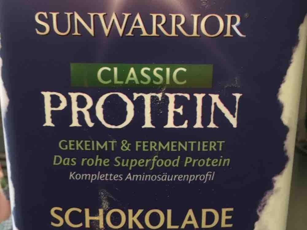 Sunwarrior  Classic Protein , Schokolade  von bahrandi | Hochgeladen von: bahrandi