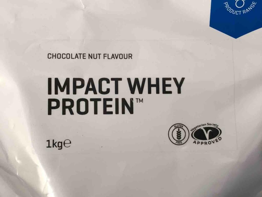 Impact Whey Protein, Schoko-Nuss von Dutchy666 | Hochgeladen von: Dutchy666
