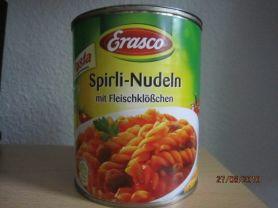 Spirli-Nudeln mit Fleischklößchen   Hochgeladen von: Fritzmeister