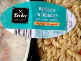 Lecker Mahlzeit, Wildlachs in Dillsauce mit Gemüse-Nudeln | Hochgeladen von: kovi