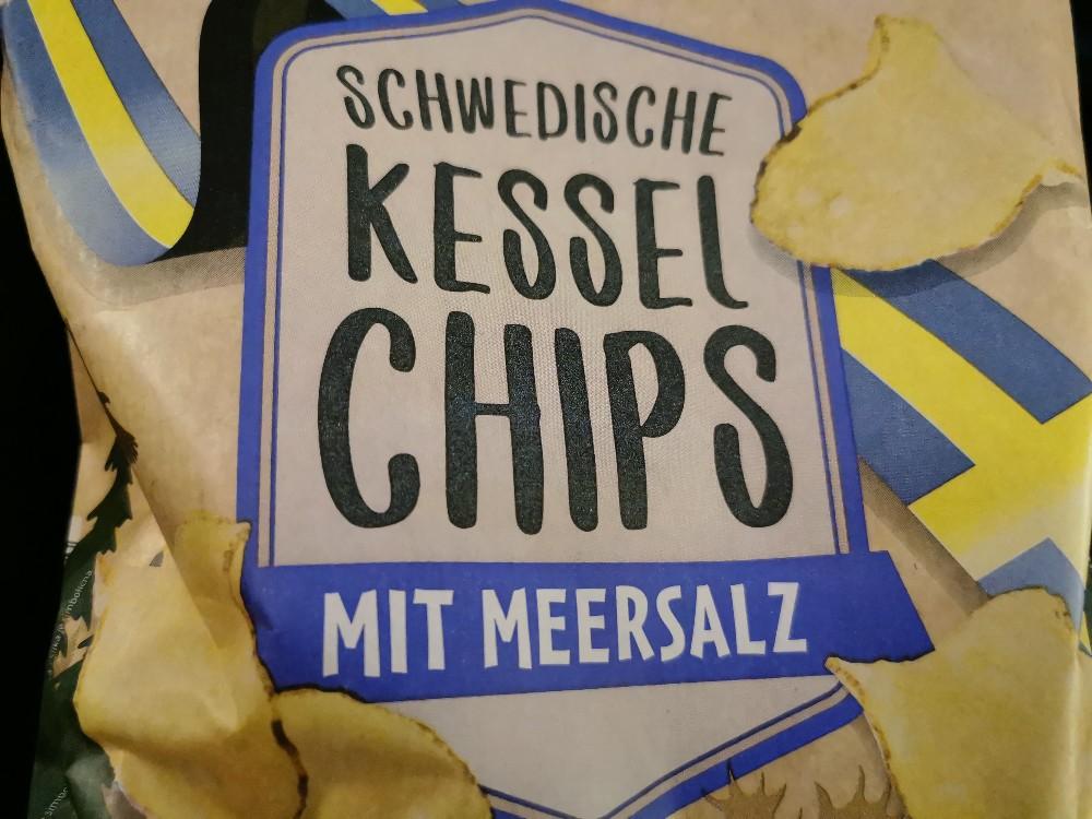Schwedische Kessel Chips, mit Meersalz von meeoow   Hochgeladen von: meeoow