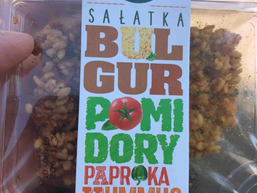 Salatka (Bulgur Pomidory Paprika Hummus) von peeat81   Hochgeladen von: peeat81