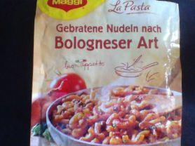 Gebratene Nudeln, Bologneser Art   Hochgeladen von: Seidenweberin