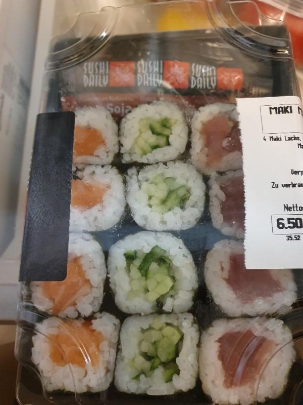 Super Maki Mix, Thunfisch Lachs Gurke Avocado von BeeBo170573 | Hochgeladen von: BeeBo170573