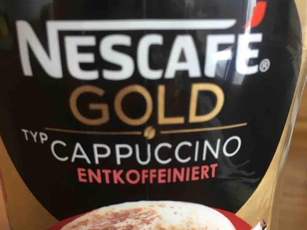Nescafe Cappuccino, Entkoffeiniert von Frl.Mietz   Hochgeladen von: Frl.Mietz