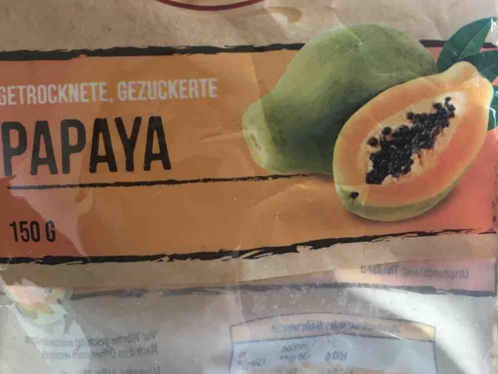 Papaya getrocknet, gezuckert von Julejule   Hochgeladen von: Julejule