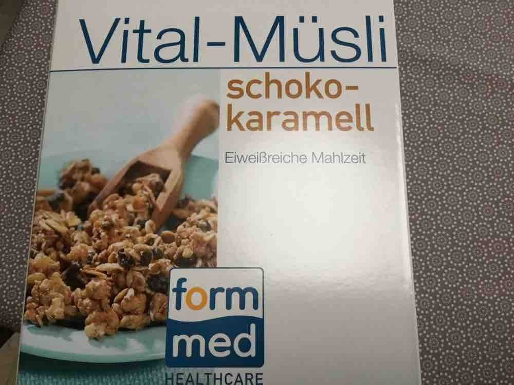 Vital Müsli Schoko Karamell, Schoko von vitafit | Hochgeladen von: vitafit