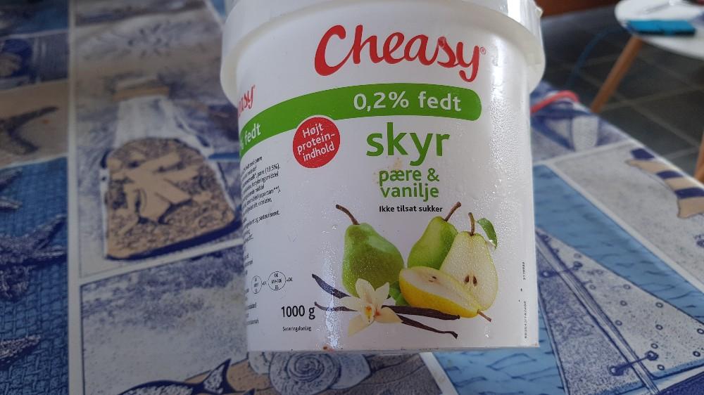 Skyr mit Birne 0,2% Fett, Birne und Vanille von schreibmal946 | Hochgeladen von: schreibmal946