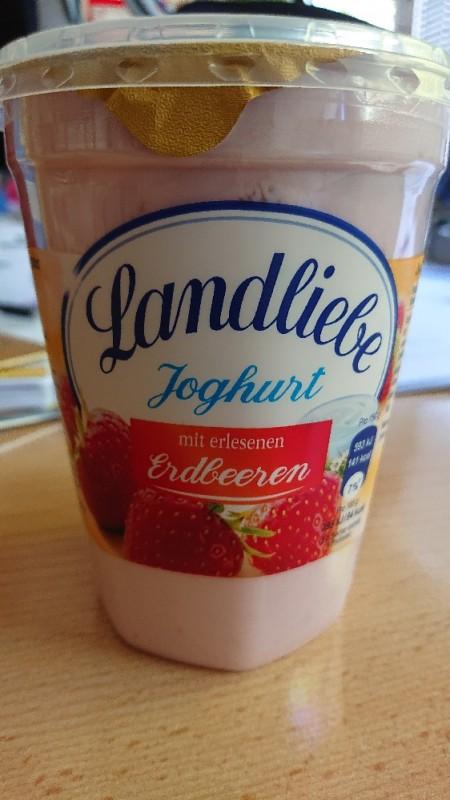 Joghurt, mit erlesenen Erdbeeren von Manu 7674 | Hochgeladen von: Manu 7674