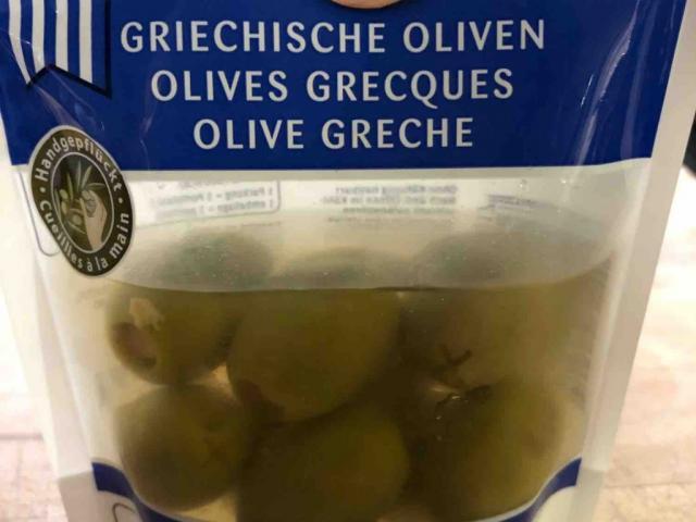Griechische Oliven gefüllt mit Knoblauch von sternenstaub   Hochgeladen von: sternenstaub