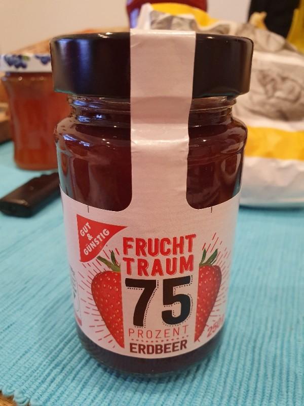 Fruchtaufstrich Erdbeere 75 % Frucht, Erdbeer von Loewer   Hochgeladen von: Loewer