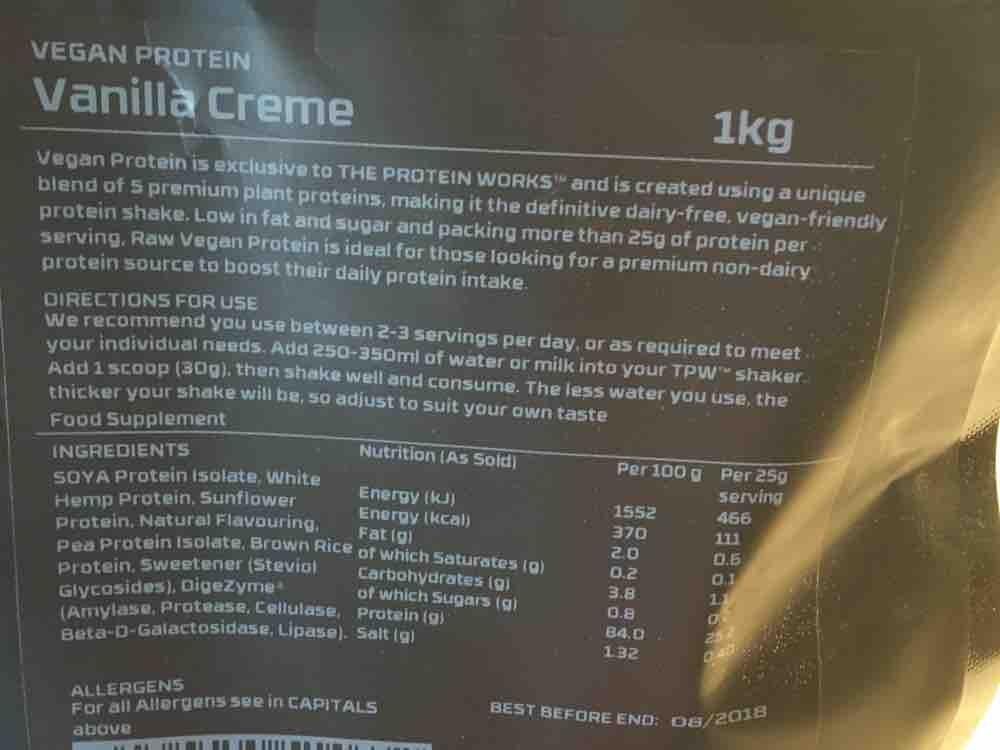 Vegan Protein  von mk130571 | Hochgeladen von: mk130571