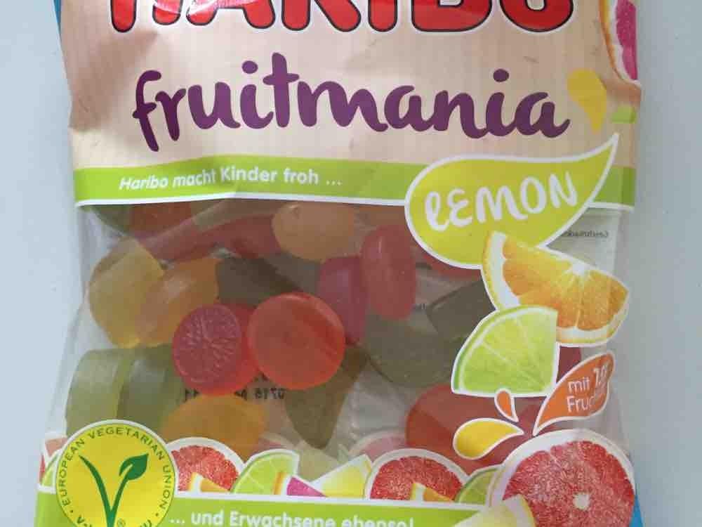 Haribo Fruitmania, Lemon von Kugelrundgesund   Hochgeladen von: Kugelrundgesund