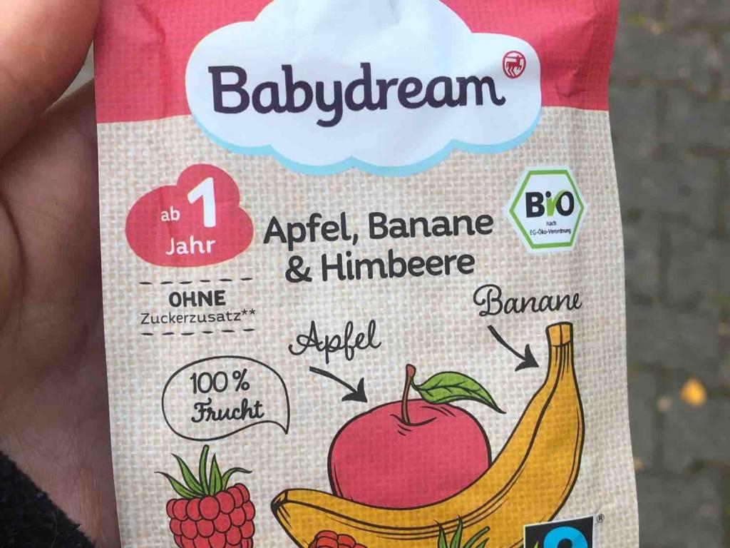 Bio Fruchtpüree, Apfel, Banane & Himbeere von leajo | Hochgeladen von: leajo