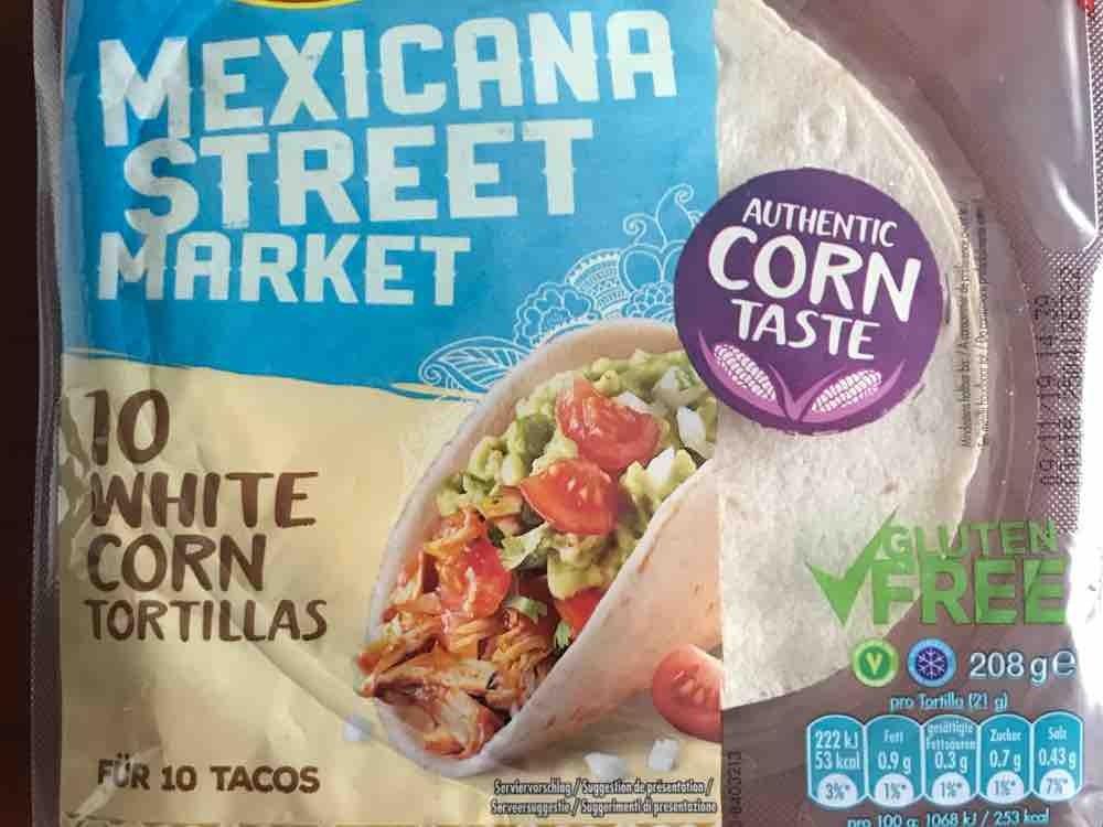 White Corn Tortillas, Mexican Street Market von Jennniii86 | Hochgeladen von: Jennniii86