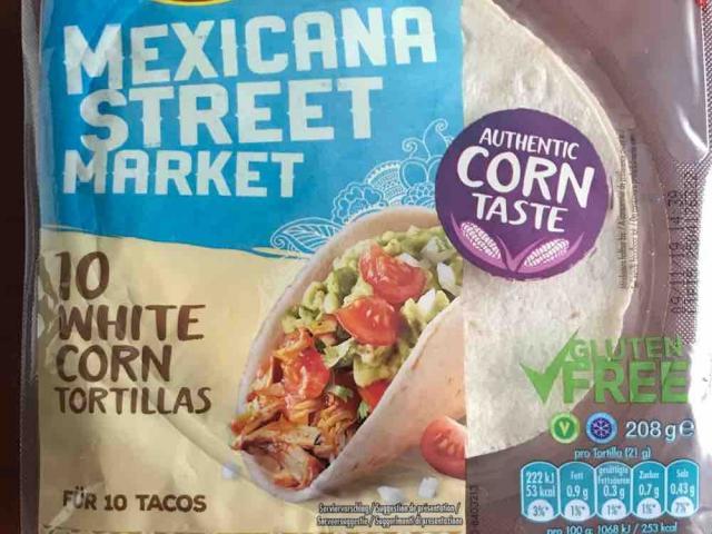 White Corn Tortillas, Mexican Street Market von Jennniii86   Hochgeladen von: Jennniii86