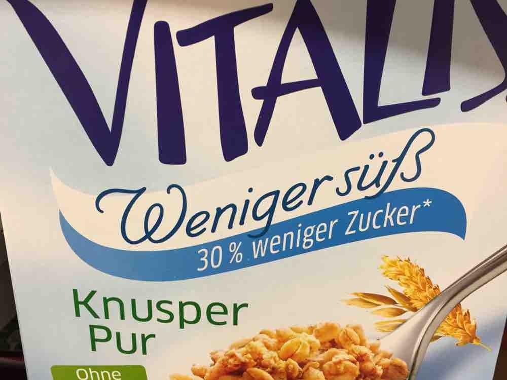 Vitalis Weniger Süß, Knusper Pur von corinna3103 | Hochgeladen von: corinna3103