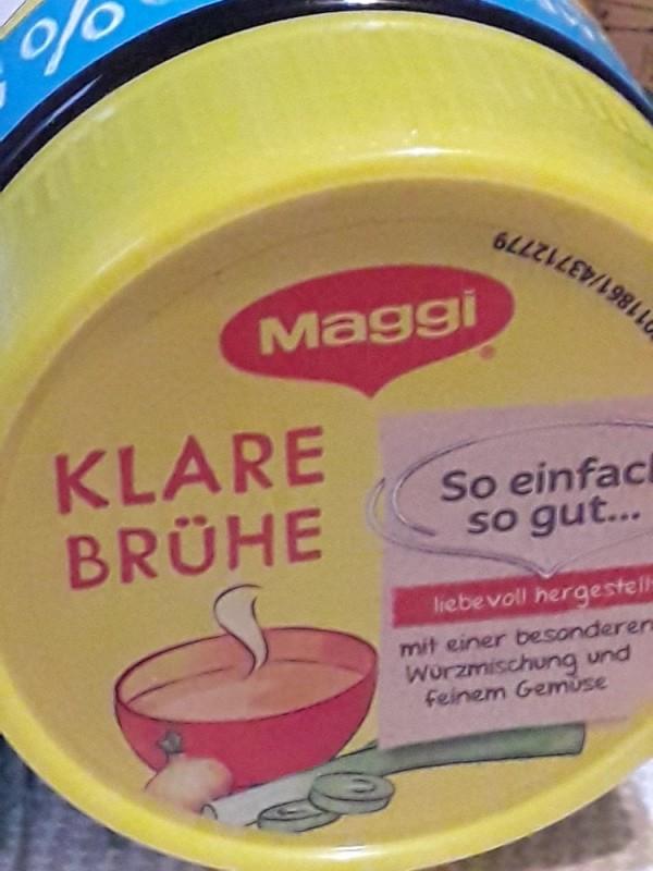 Maggi Klare Brühe von kakaduschnuffi   Hochgeladen von: kakaduschnuffi