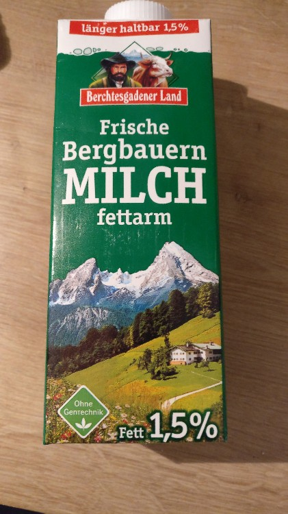 Frische Bergbauern Milch, fettarm (1,5%) von asrol | Hochgeladen von: asrol