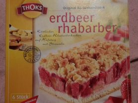 Thoks Erdbeer Rhabarber Kuchen Kalorien Kuchen Torten Fddb