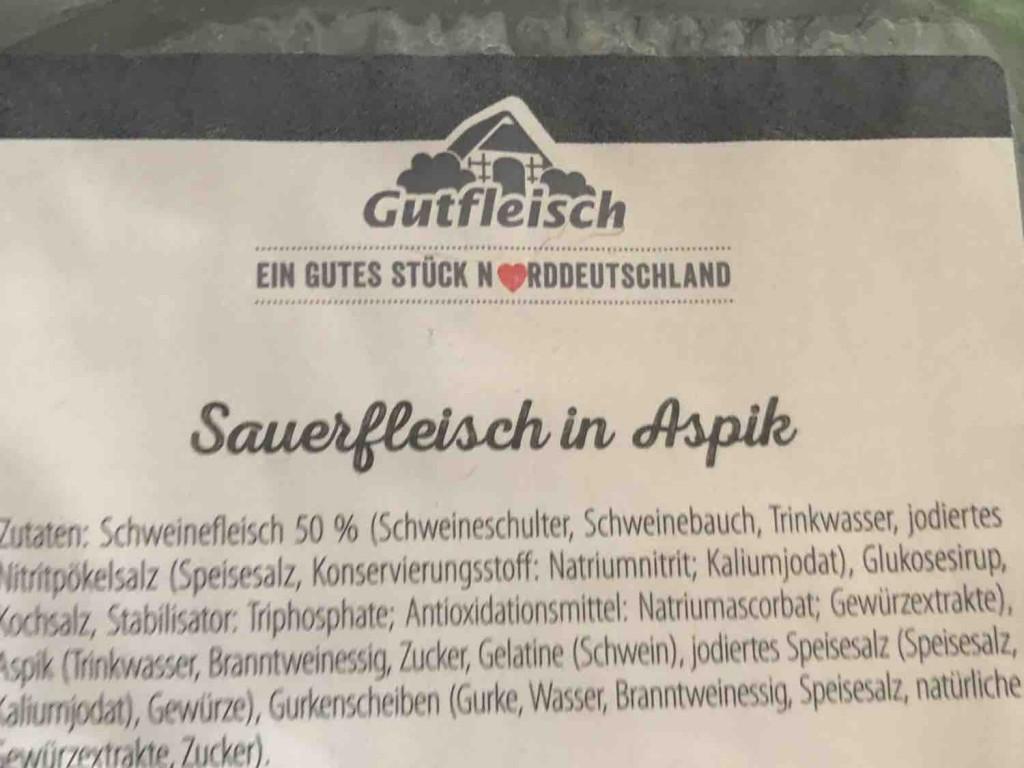 Sauerfleisch in Aspik von volker.roll | Hochgeladen von: volker.roll