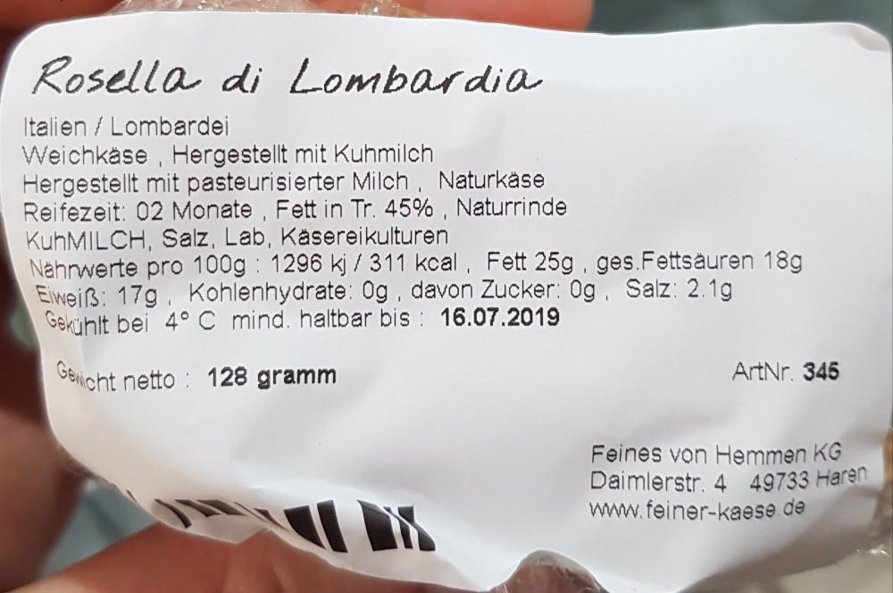 Rosella di Lombardia Weichkäse Fett in Tr. 45% von tschondou   Hochgeladen von: tschondou