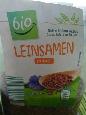 Bio-Leinsamen geschrotet aus kontrolliert biologischem Anbau | Hochgeladen von: joebel693
