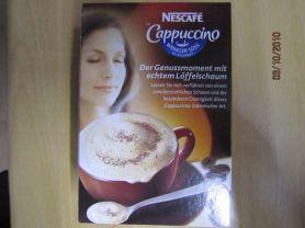 Nescafe Cappuccino ungesuesst, mit extra viel Loeffelschaum | Hochgeladen von: Fritzmeister