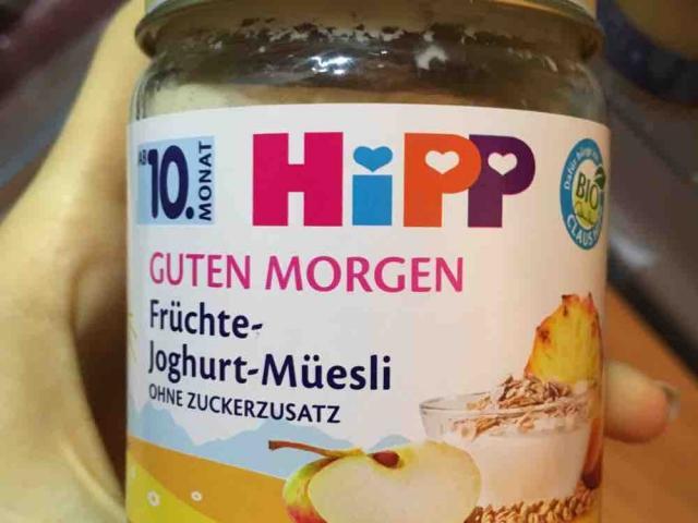 Guten Morgen, Früchte-Joghurt-Müsli von alexandra.habermeier   Hochgeladen von: alexandra.habermeier
