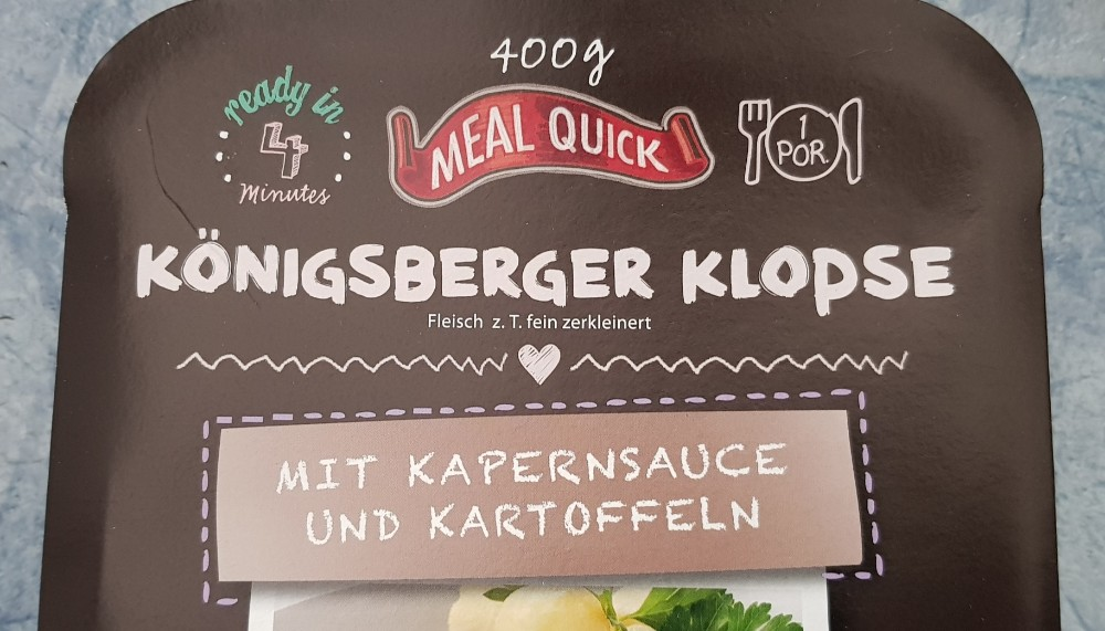 Königsberger Klopse, mit Kapernsauce und Kartoffeln von walker59 | Hochgeladen von: walker59