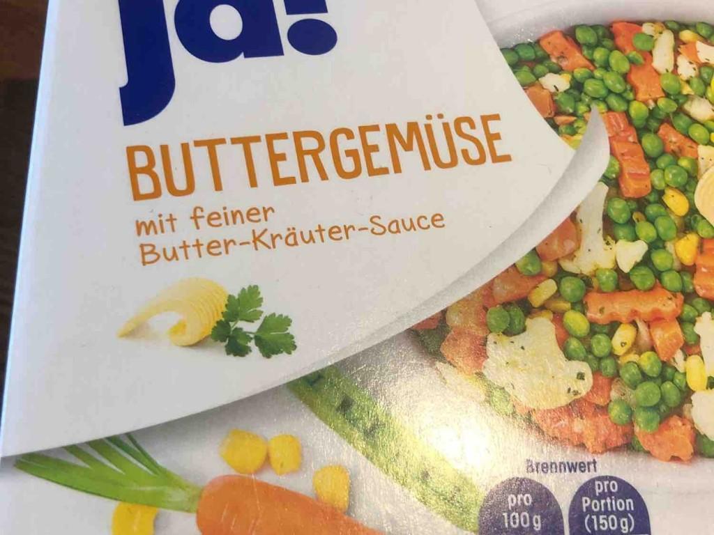 Buttergemüse, mit feiner Butter-Kräuter-Sauce von Kiki | Hochgeladen von: Kiki