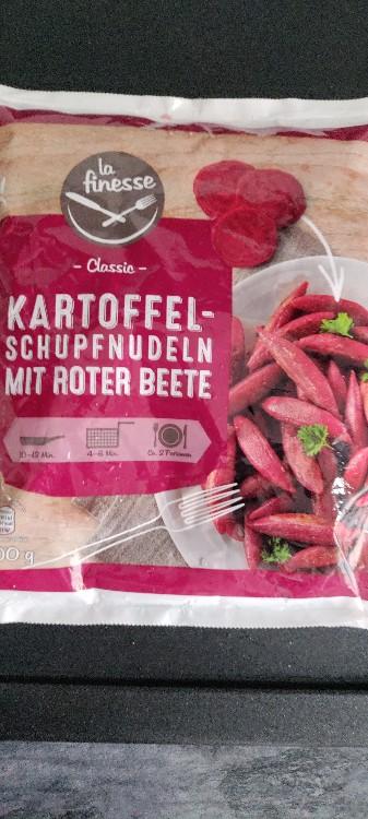 Kartoffel-Schupfnudeln mit Roter Beete, mit Roter Beete von Kathiwf   Hochgeladen von: Kathiwf