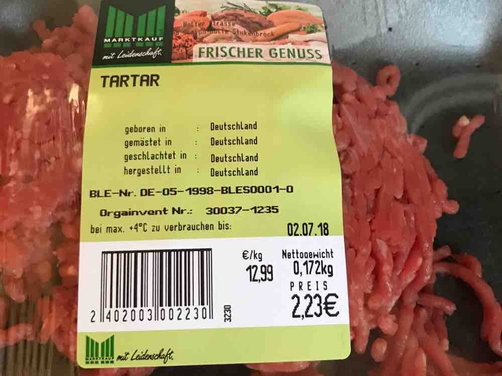 Butcher Tartare Raw Ground Beef Calories Meat Products Fddb