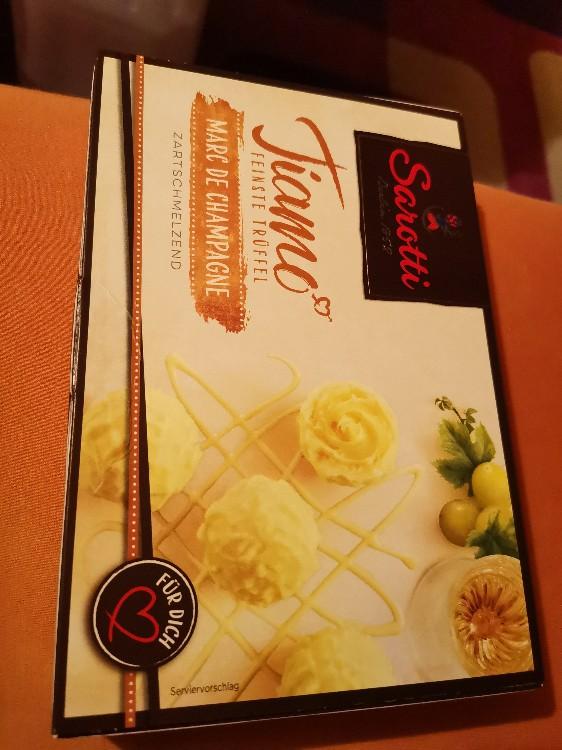 Tiamo, Marc de Champagne-Trüffel von Yakoto | Hochgeladen von: Yakoto
