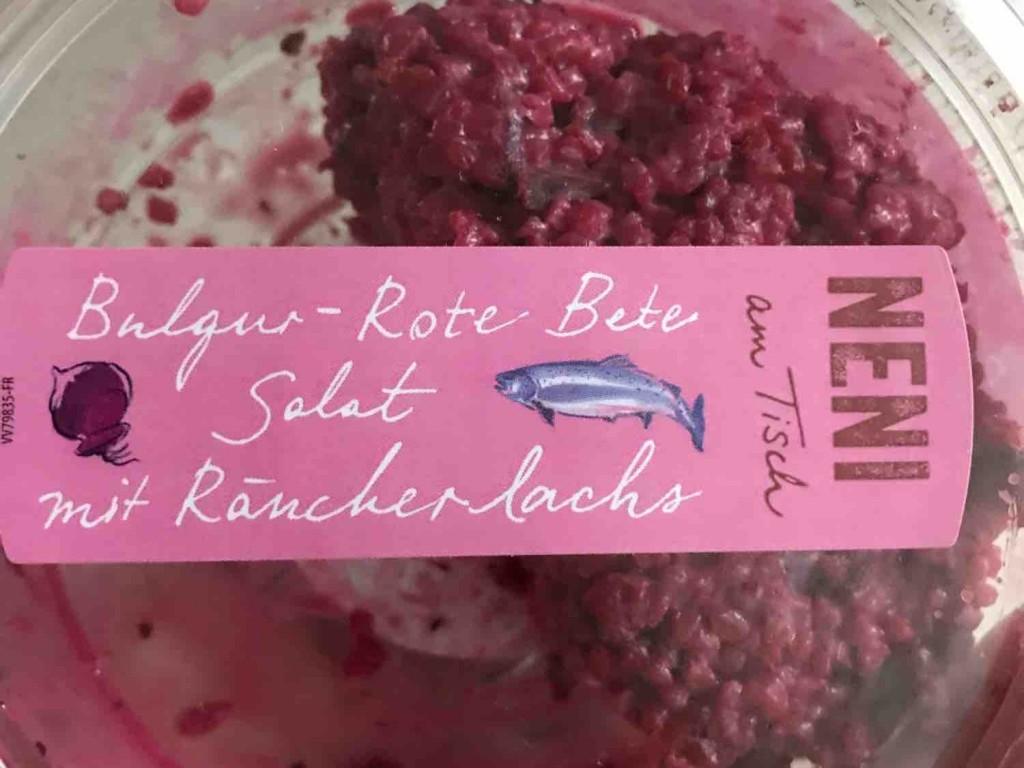 Bulgur - Rote Bete Salat mit Räucherlachs von mickeywiese | Hochgeladen von: mickeywiese