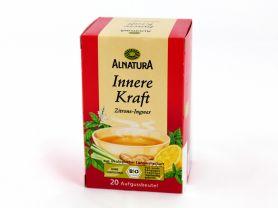 Alnatura Energie Tee Zitrone Ingwer Kalorien Getränke Fddb